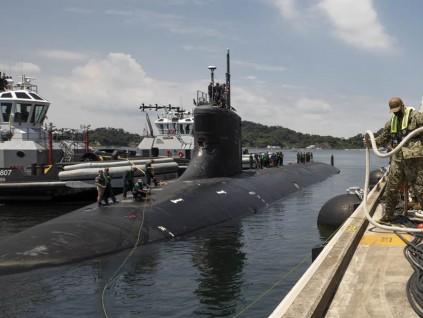 海狼级核潜舰到底在南海撞到什么 美海军回应了